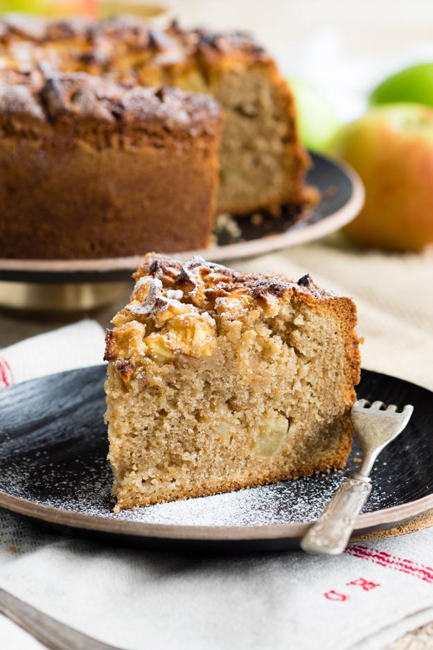 Dorset Apple Cake Slice