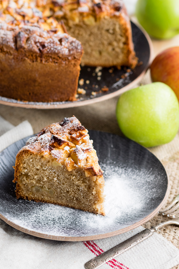 Dorset Apple Cake - Fresh Apple Cake | The Worktop