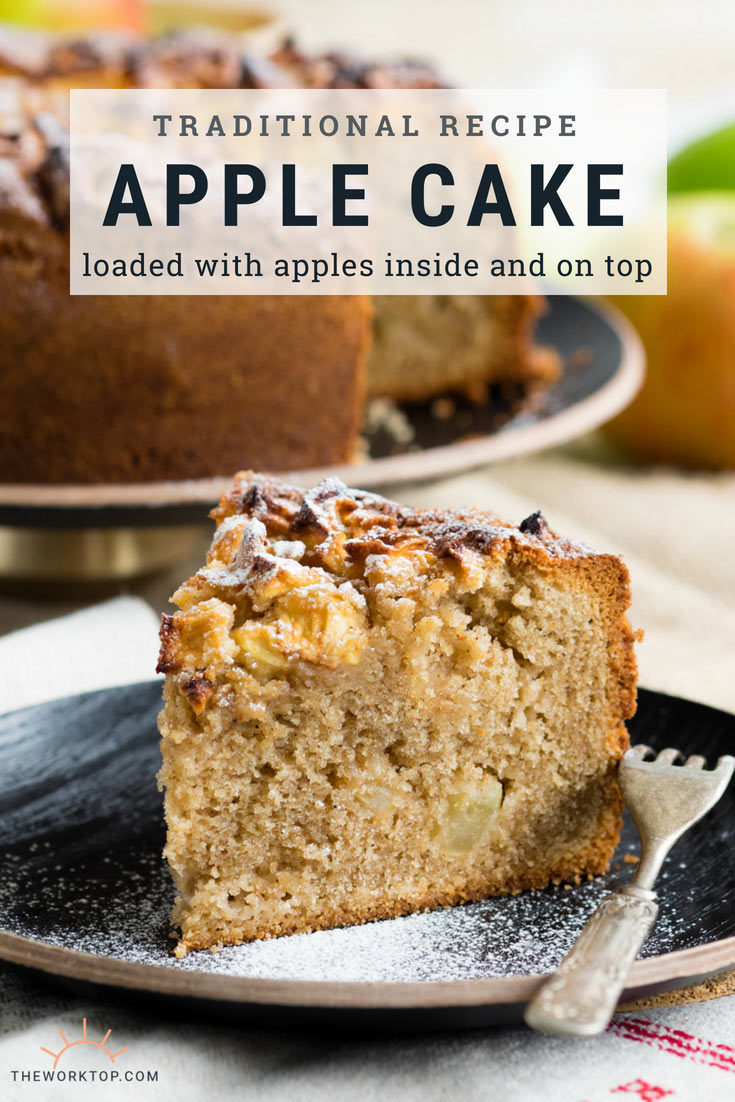 Dorset Apple Cake Recipe | A Traditional Apple Cake | The Worktop