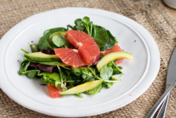 Honeyed Grapefruit Salad with Pink Peppercorns