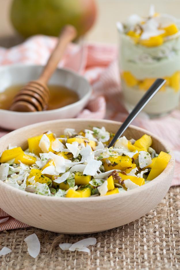 Tropical Matcha Yogurt | The Worktop