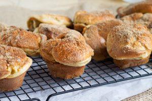 Cinnamon Brown Sugar Popovers | The Worktop