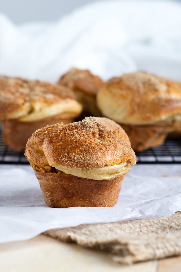 Cinnamon Brown Sugar Popovers Made In A Muffin Pan The Worktop