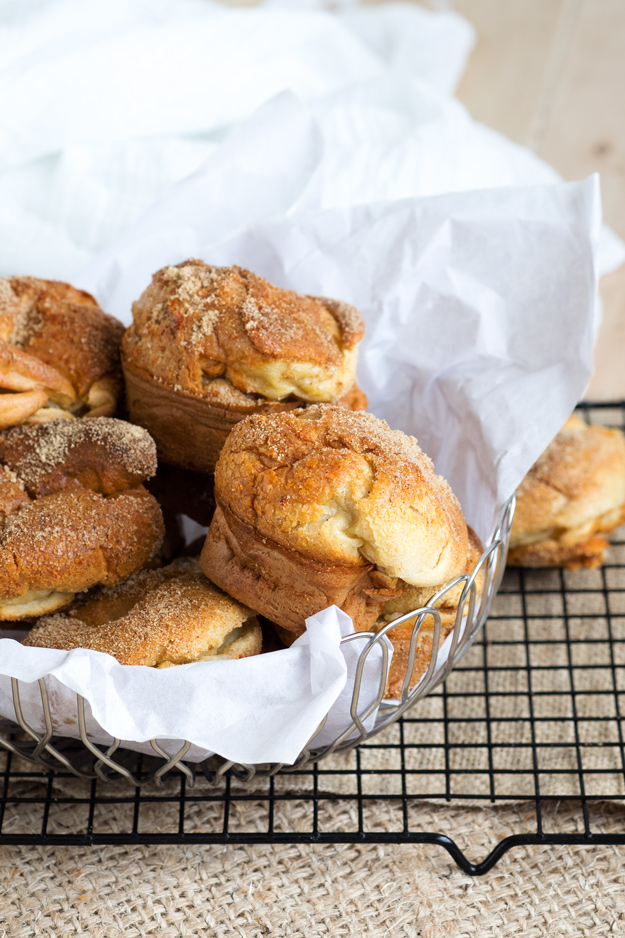 Cinnamon Brown Sugar Popovers Made in Muffin Pan | The Worktop