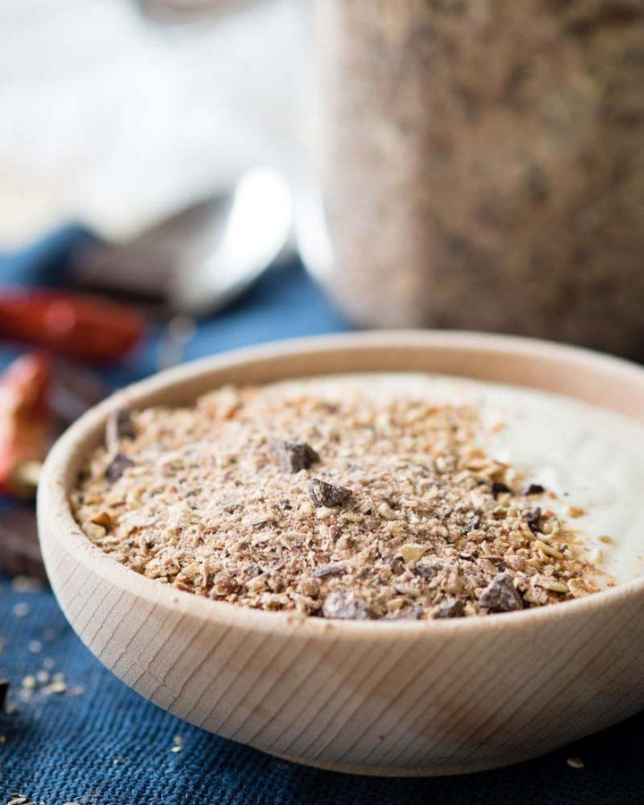 Chile Chocolate Granola Dust | The Worktop