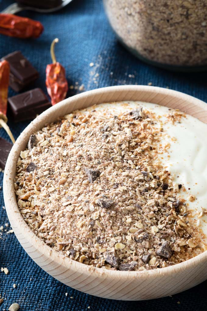 Chile Chocolate Granola Dust | The Worktop