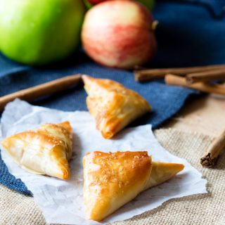 Caramel Apple Turnover with Filo Pastry | The Worktop