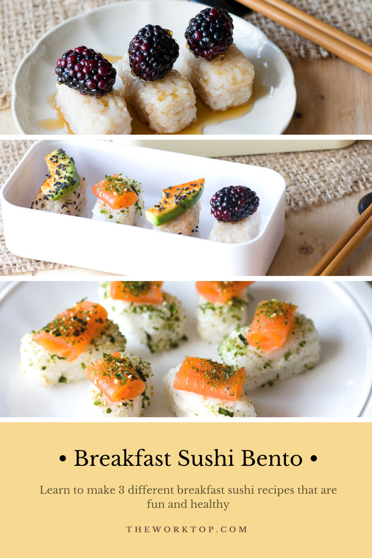 Breakfast Sushi Bento Ideas | The Worktop