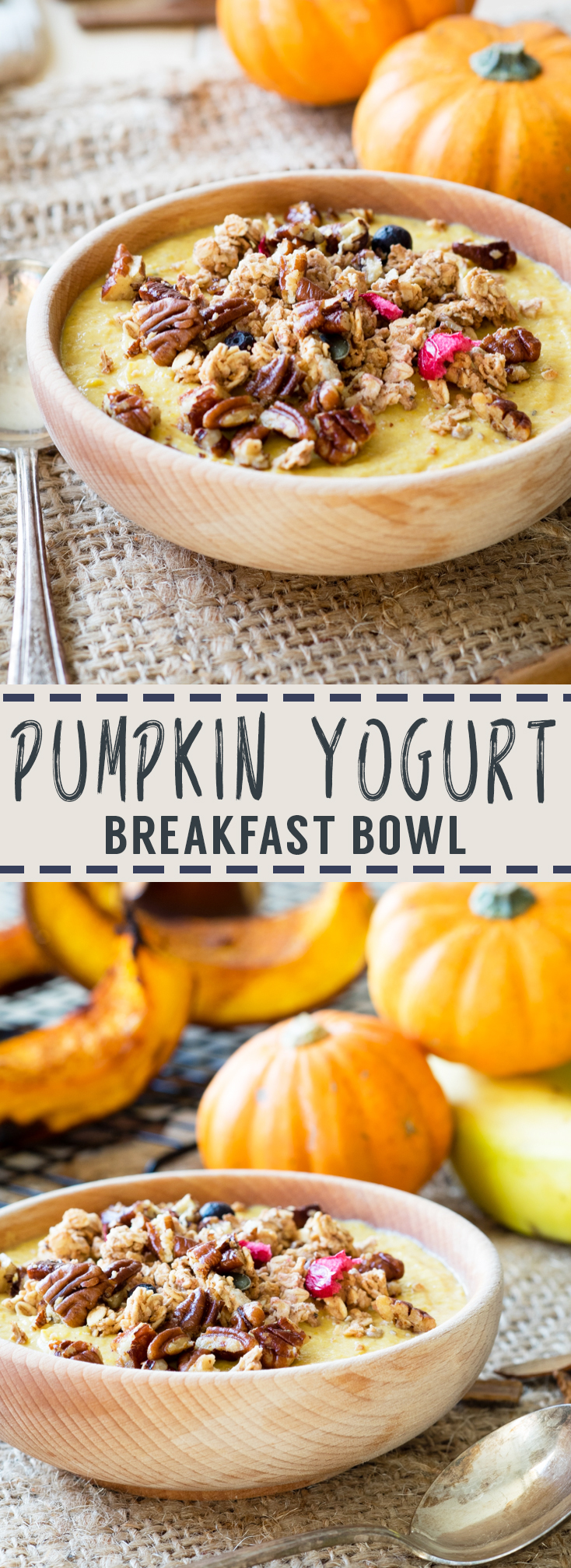 Pumpkin Greek Yogurt Breakfast Bowl | The Worktop