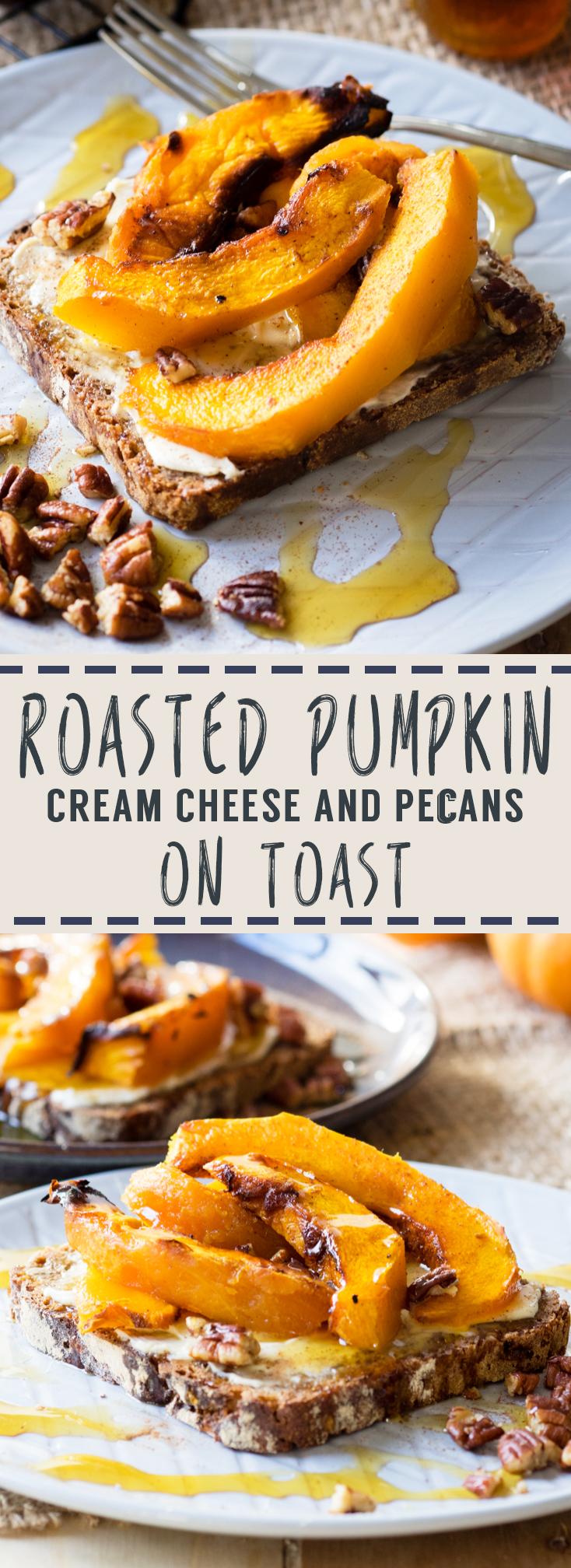 Roasted Pumpkin on Toast | The Worktop