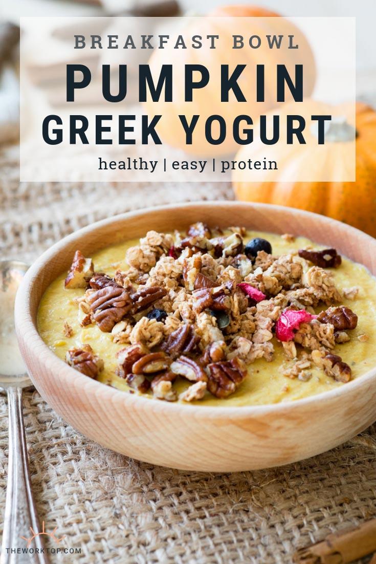 Pumpkin Greek Yogurt Breakfast Recipe | The Worktop