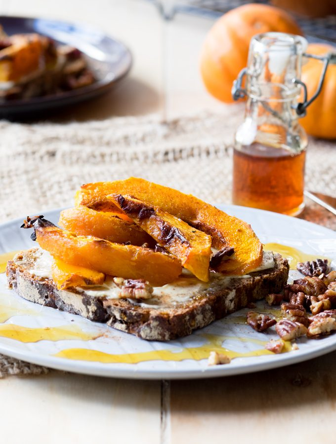 Roasted Pumpkin on Toast