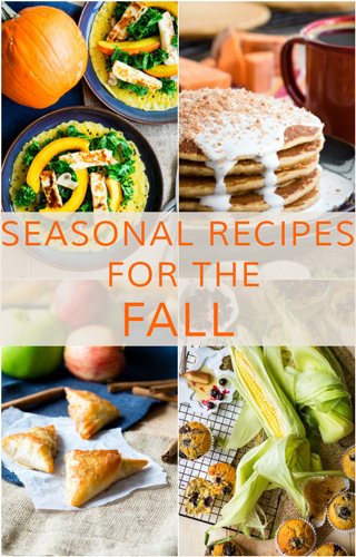 Seasonal Recipes for the Fall