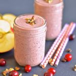 Cranberry Smoothie | Easy Thanksgiving Breakfast Ideas