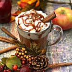 Caramel Apple Cider Copycat Starbucks | Festive Thanksgiving Drink Recipe