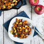 Sausage and Apple Hash | Thanksgiving Breakfasts