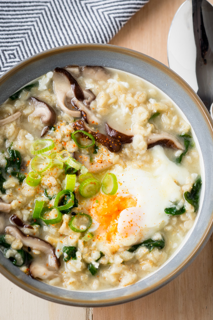 Savory Oatmeal with Bone Broth - What to do with Bone Broth | The Worktop