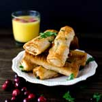 Turkey Filo Fingers | Thanksgiving Brunch Recipes