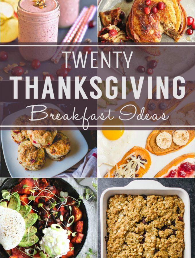20 Thanksgiving Breakfast Ideas