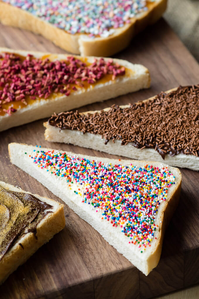 Fairy Bread - Sprinkles on Toast | The Worktop