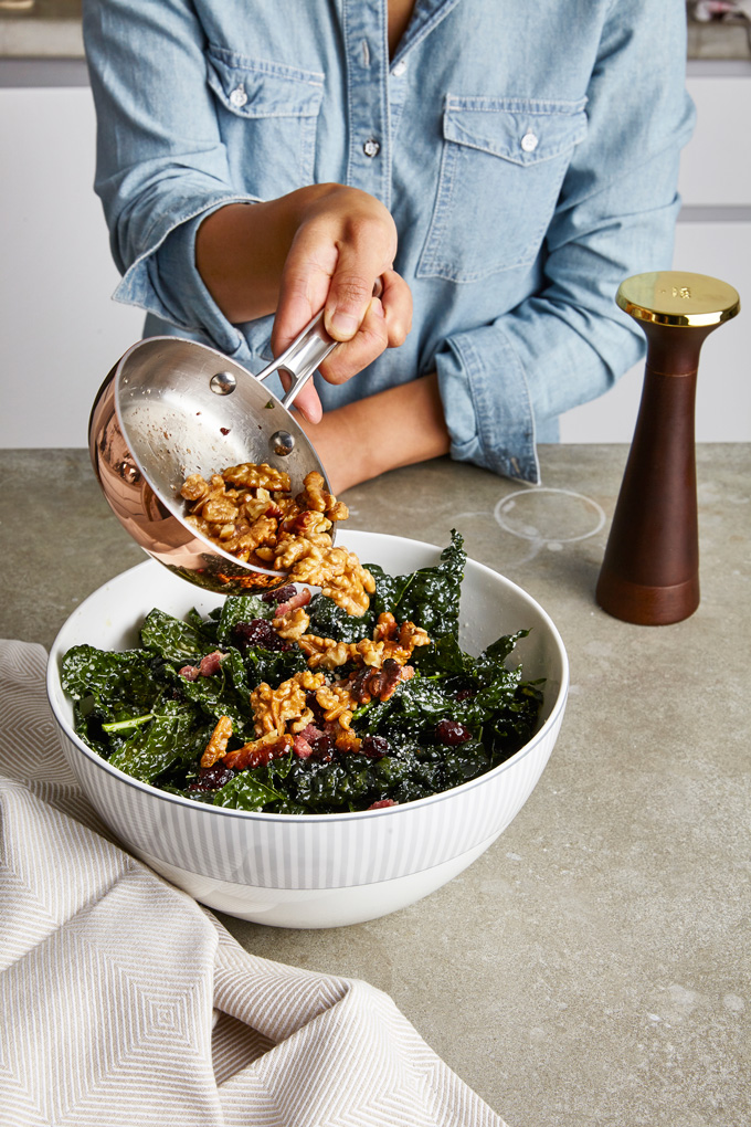 Simple Lacinato Kale Salad   The Worktop