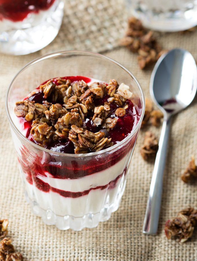 New Years Breakfast Champagne Parfait | The Worktop