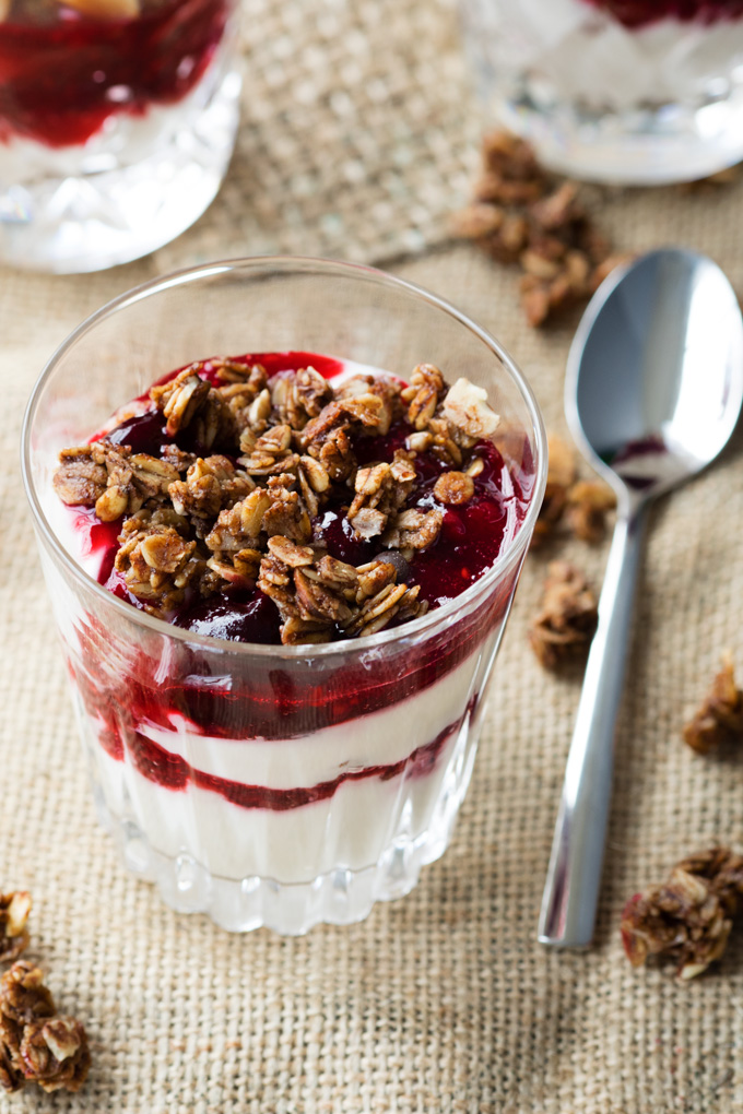 New Year's Breakfast - Champagne Yogurt Parfait | The Worktop