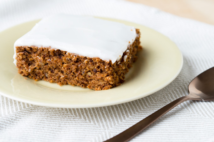 Vegan Carrot Cake With Coconut Yogurt Icing The Worktop