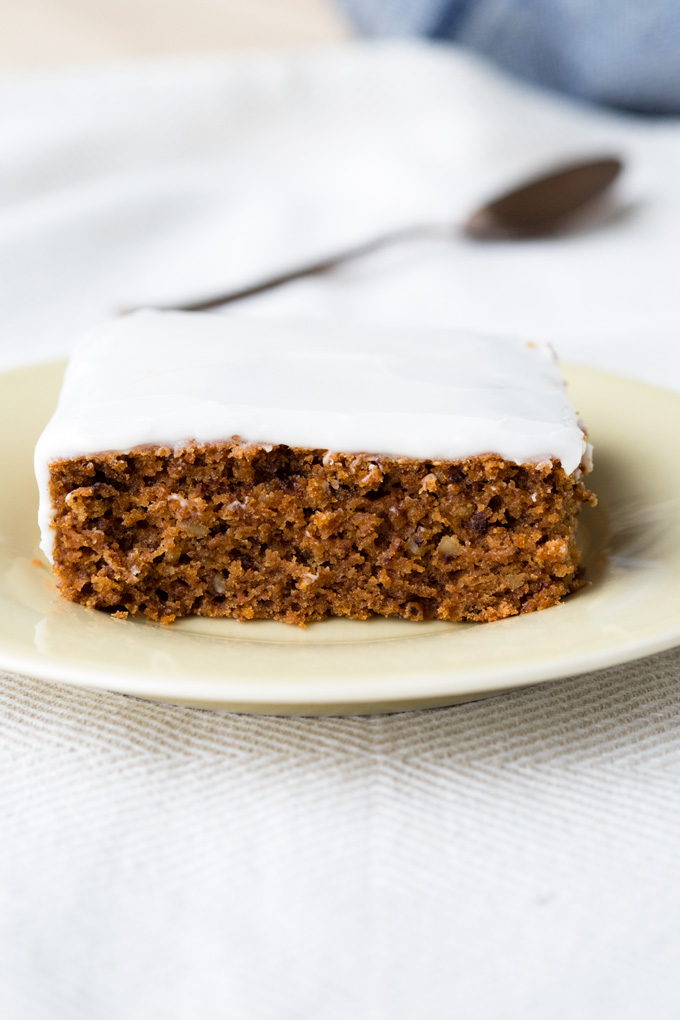 Vegan Carrot Cake with Coconut Yogurt Icing | The Worktop