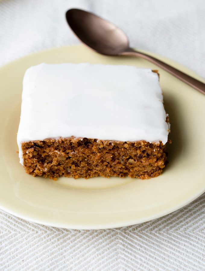 Vegan Carrot Cake with Coconut Yogurt Icing