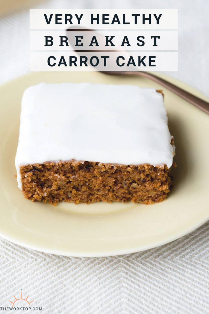 Healthy Vegan Carrot Cake Recipe | The Worktop