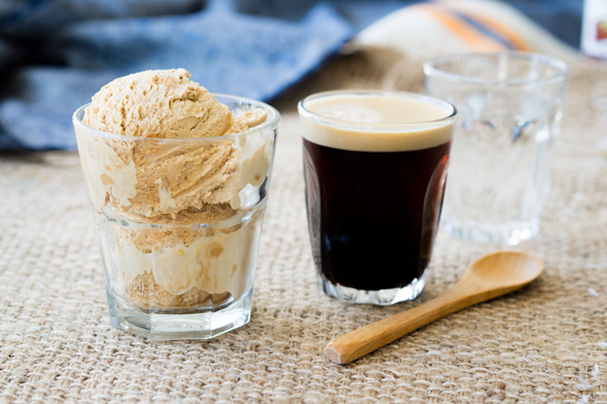 Sea Salt Caramel Coffee Float | The Worktop
