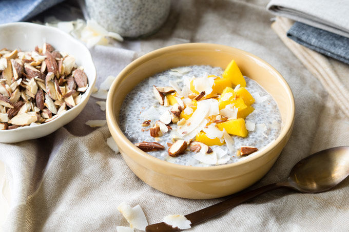 Chia Seed Pudding with Coconut Milk | The Worktop