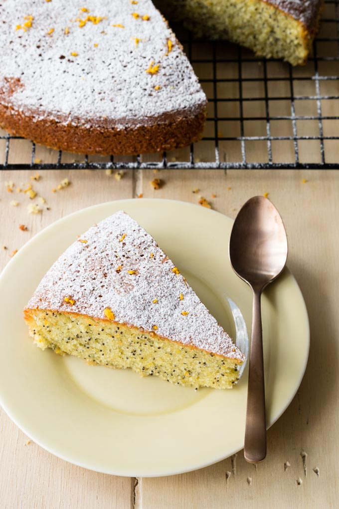 Almond Olive Oil Cake Recipe | The Worktop