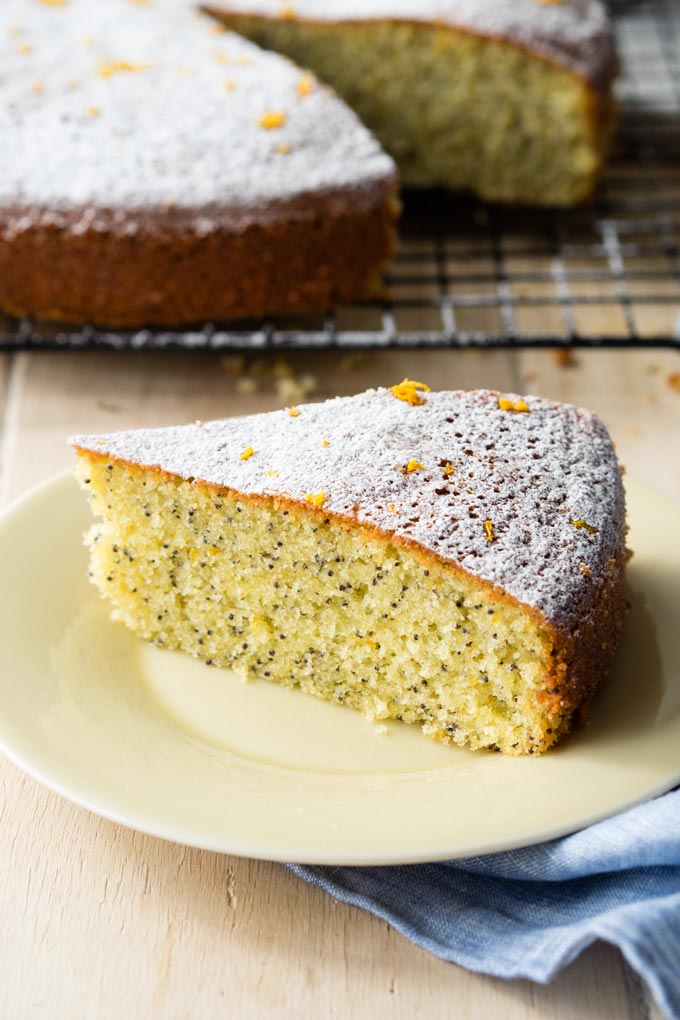 Almond Olive Oil Cake with Orange and Poppy Seeds | The Worktop