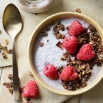 Chia Seeds in Yogurt