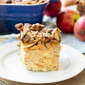 Apple French Toast Casserole Easy Recipe