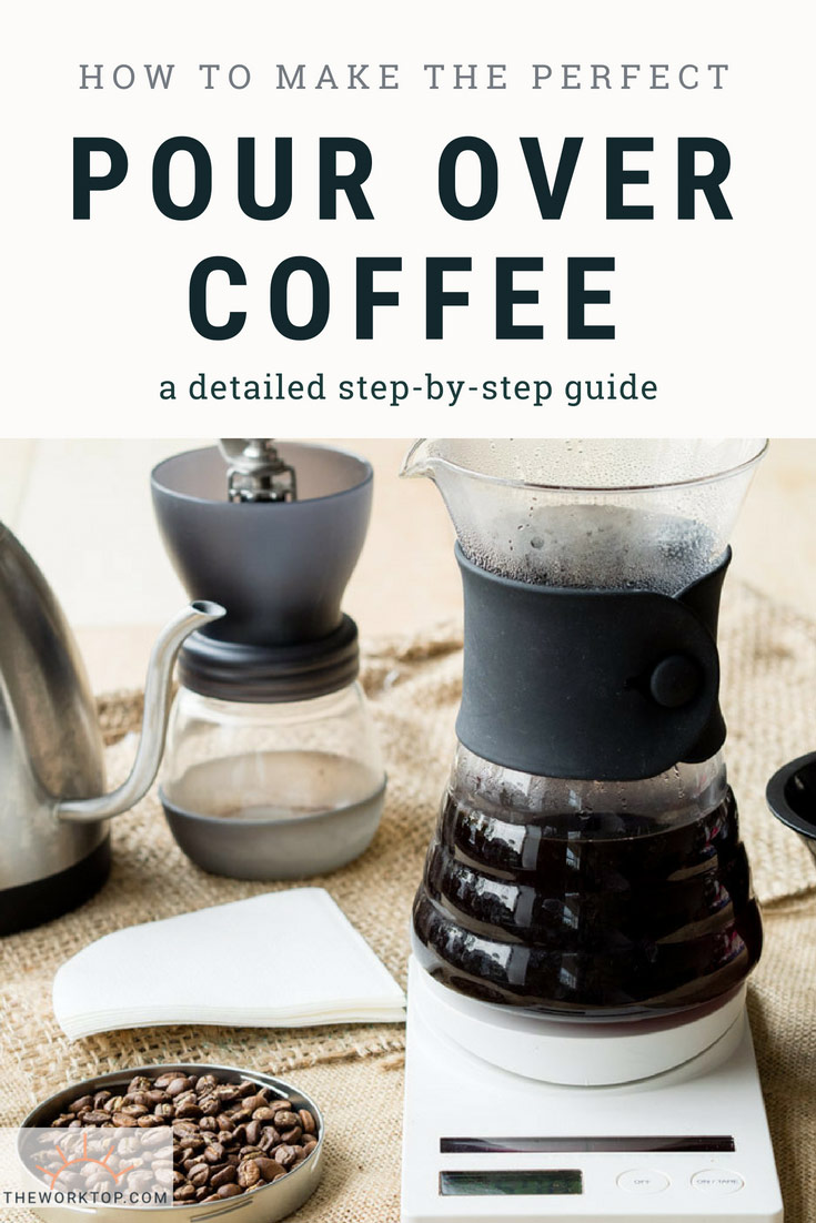 How to Make Pour Over Coffee - Brew Guide | The Worktop