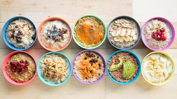 10 Healthy Porridge Toppings for the Family | The Worktop