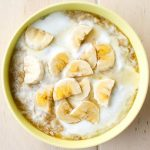 Creamy Banana and Yogurt Porridge