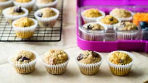 Healthy Kids Muffins - Breakfast Muffins | The Worktop