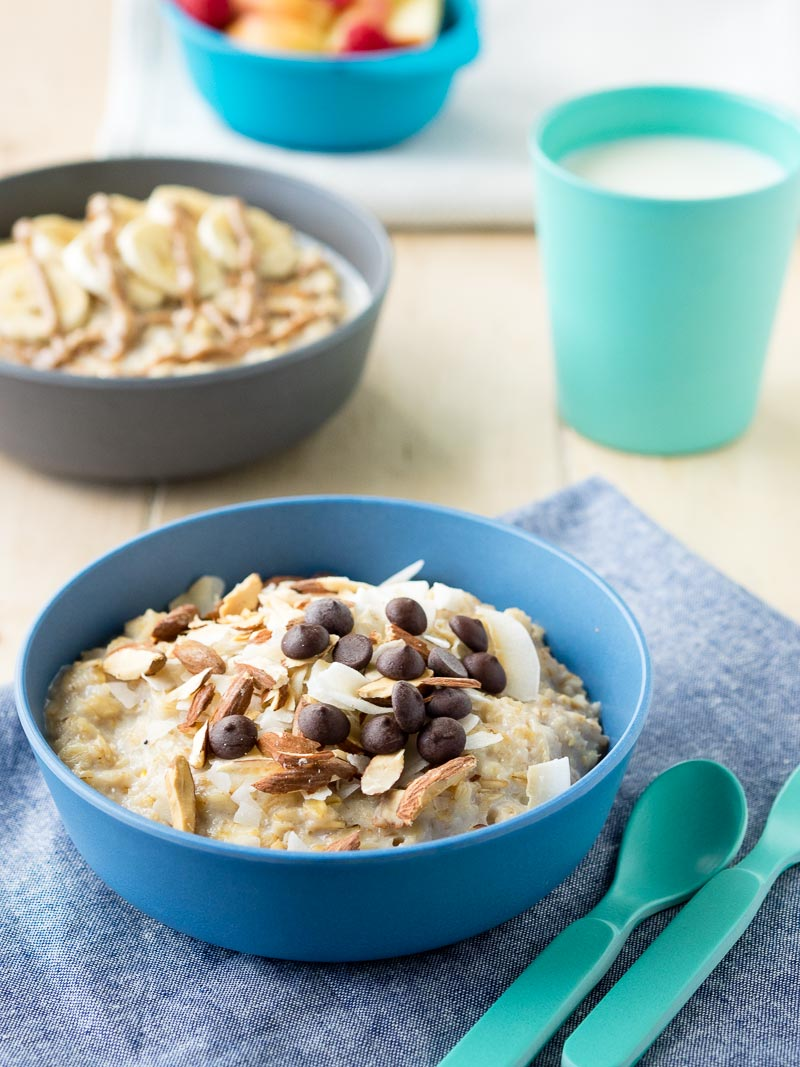 10 Porridge Toppings - Almond Joy | The Worktop