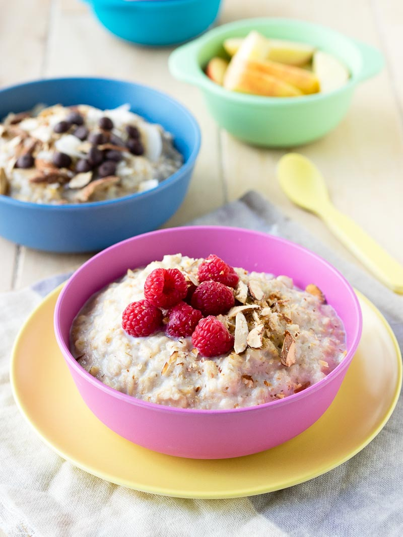 10 Healthy Oatmeal Toppings - Raspberry and Vanilla | The Worktop