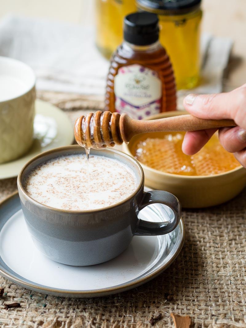 Hot Milk and Honey Drink | The Worktop