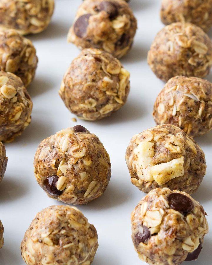 Peanut Butter Oatmeal Energy Balls | The Worktop