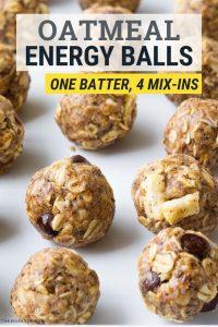 Oatmeal Energy Balls Recipe No Bake | The Worktop