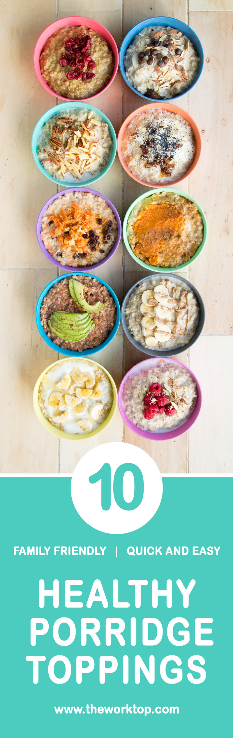 Pinterest Healthy Porridge Toppings