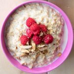 Raspberry and Vanilla Porridge