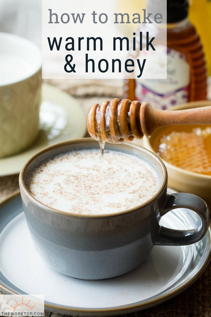 Warm Milk and Honey Drink Recipe | The Worktop