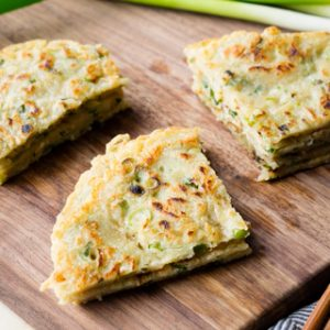 Quick Chinese Scallion Pancake Recipe | The Worktop